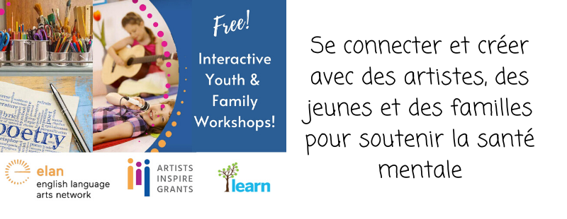 Se connecter et créer avec des artistes, des jeunes et des familles pour soutenir la santé mentale