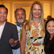 Photo de Guy Rodgers, Lili, Bettina Forget, Roger Sinha, and Kakim au AGA 2019