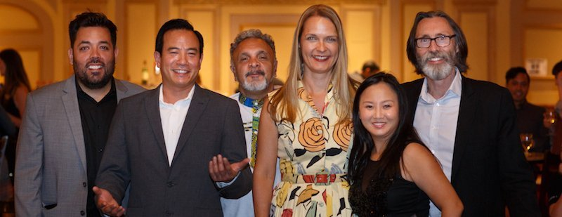 Image of Guy Rodgers, Lili, Bettina Forget, Roger Sinha, and Kakim at ELAN's 2019 AGM