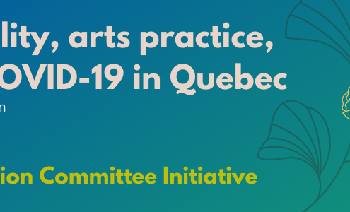 Disability, arts practice, and COVID-19 in Quebecby Renée Yoxon. An Inclusion Committee Meeting