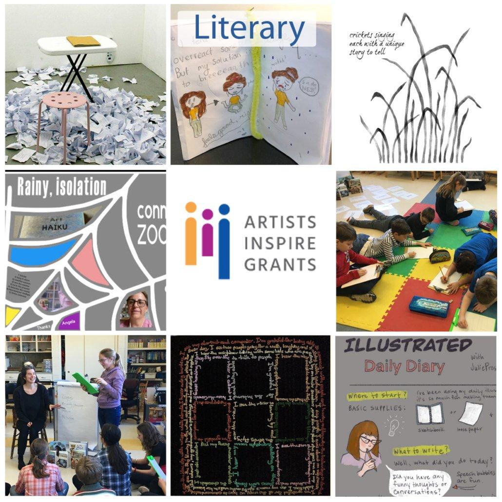 Literary Artists Inspire Grants