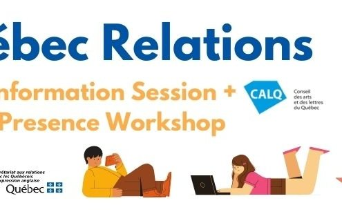 Quebec Relations CALQ Information Session + Digital Presence Workshop