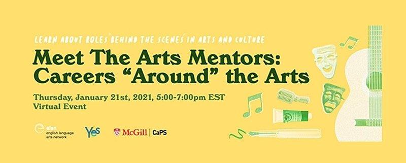 "Meet The Arts Mentors: Careers ""Around"" the Arts"