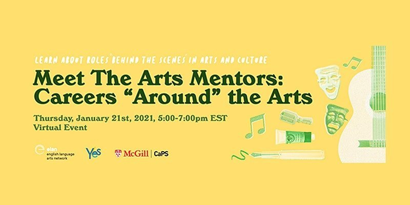 "Meet The Arts Mentors: Careers ""Around"" the Arts"