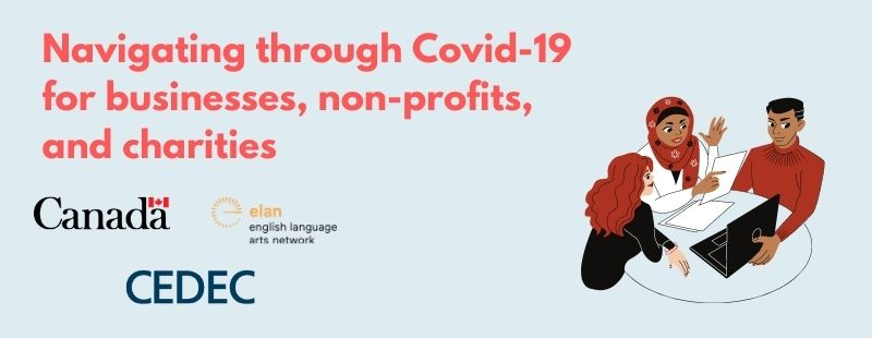 Navigating through COVID19 for businesses, non-profits, and charities