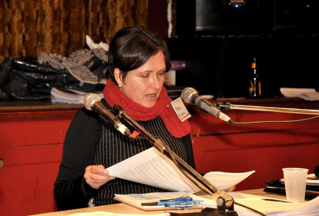 Monika Majewsky, former ELAN staff member