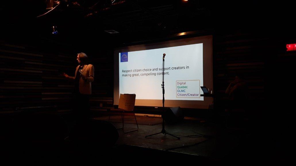 Guy Rodgers at Digital Shift public consultation (Bar Le Ritz) Photo Amy Macdonald.
