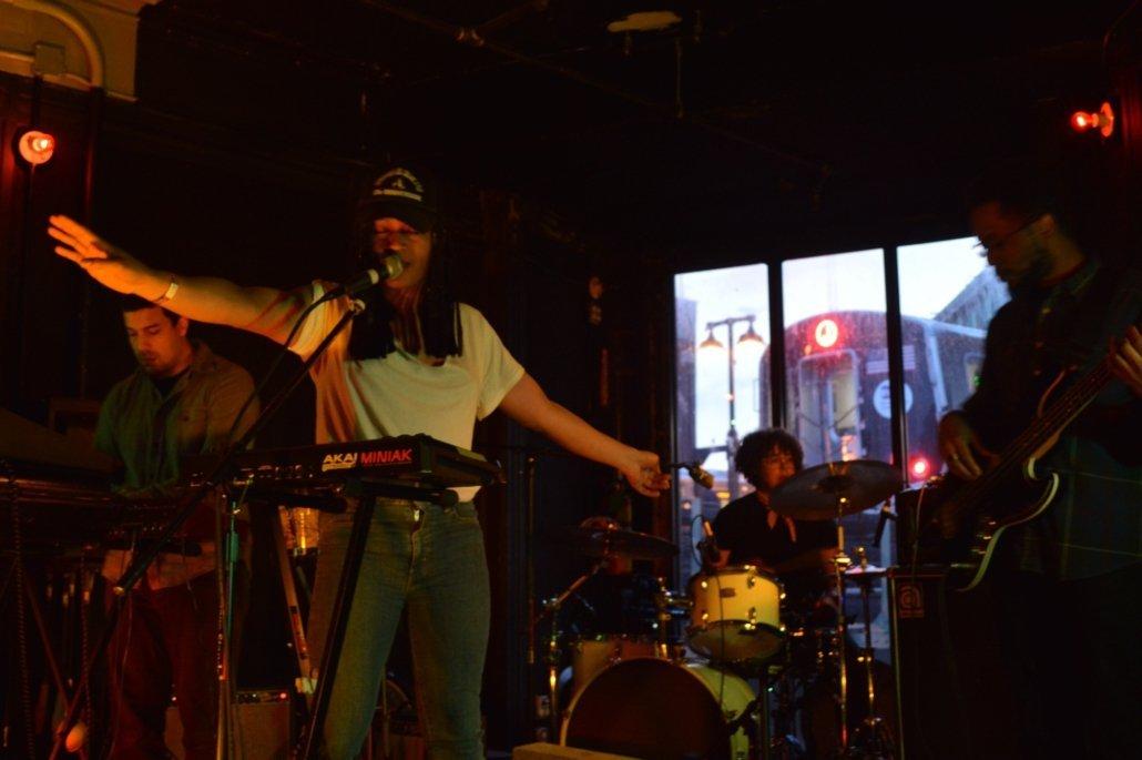 Elle Barbara performing part of PAMA