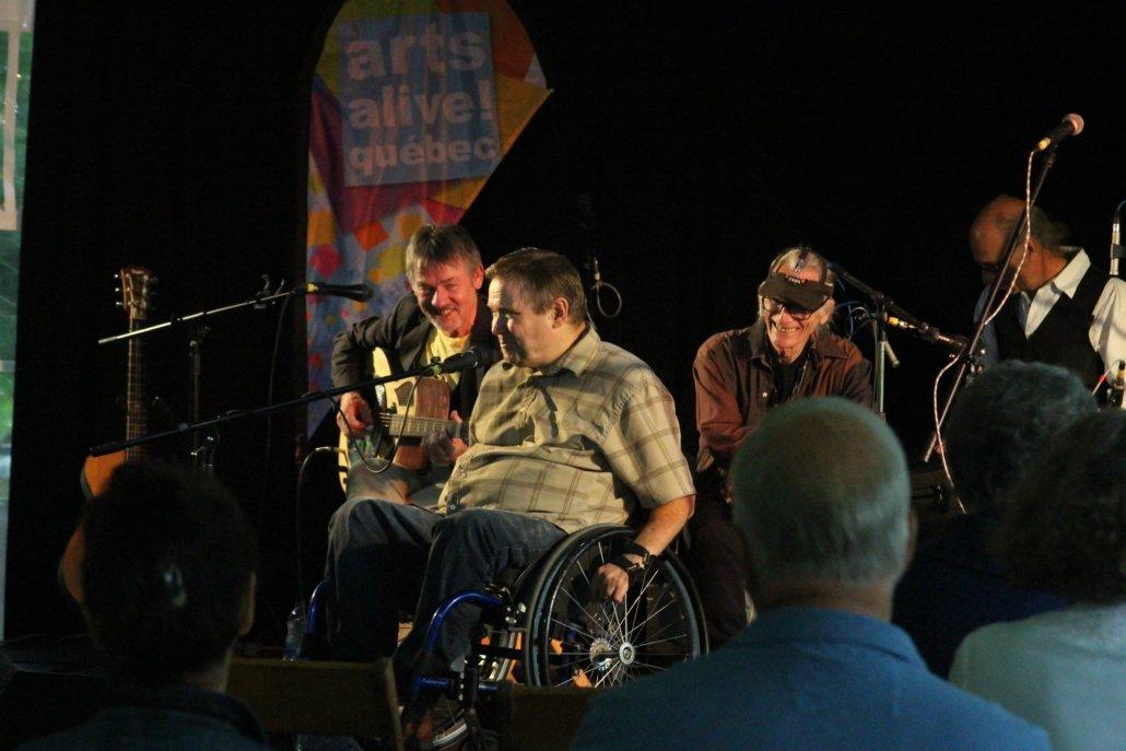 Durham County Poets at Grove Hall, Huntingdon, Arts Alive! Québec.